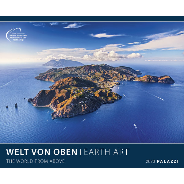 Palazzi The World from Above - Earth Art Posterkalender 2020