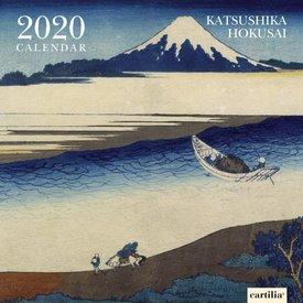 Cartilia Katsushika Hokusai Kalender 2020