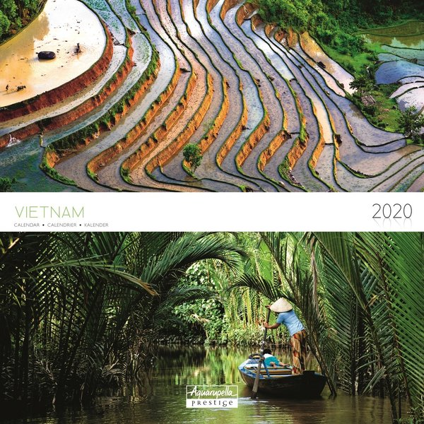 Aquarupella Vietnam Prestige Kalender 2020