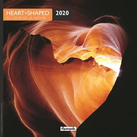 Aquarupella Herzen in der Natur Kalender 2020