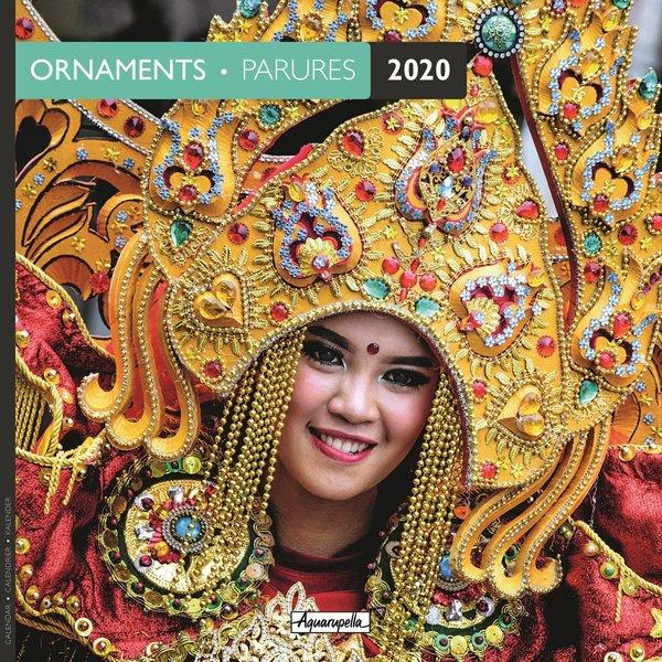 Aquarupella Verzierungen - Ornaments Kalender 2020