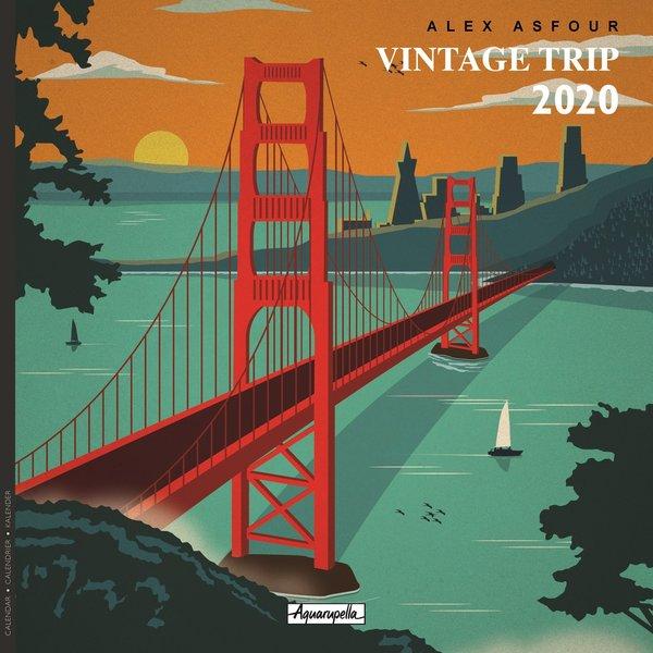 Aquarupella Vintage Trip Kalender 2020