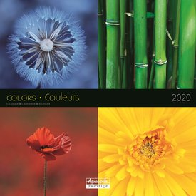 Aquarupella Farben - Colors Kalender 2020