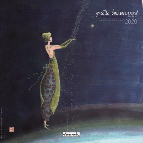 Gaelle Boissonnard Blue Kalender 2020