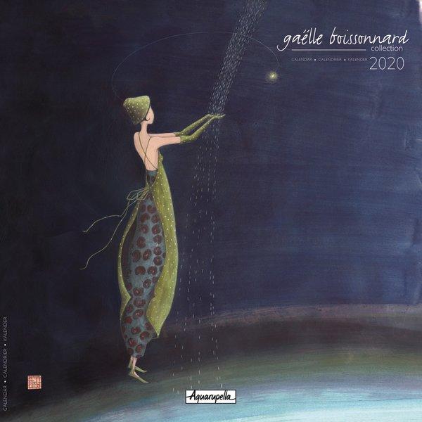 Aquarupella Gaelle Boissonnard Blue Kalender 2020