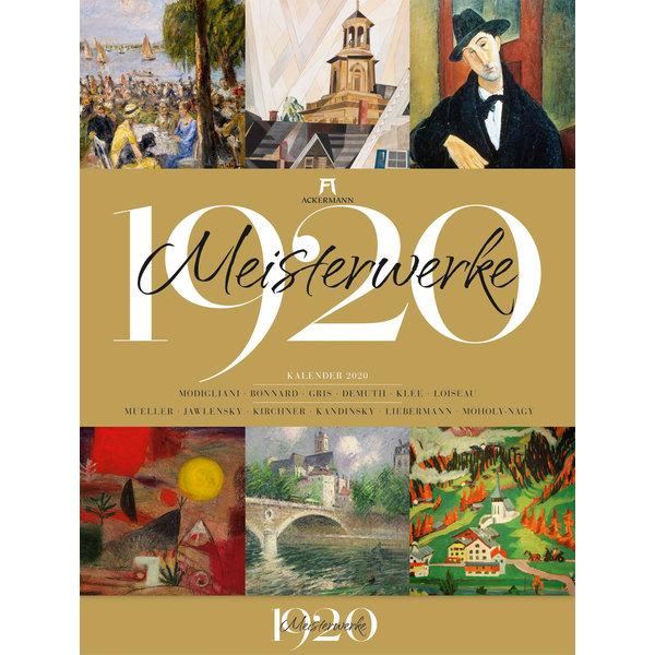Ackermann Meesterwerken 1920 Kalender 2020