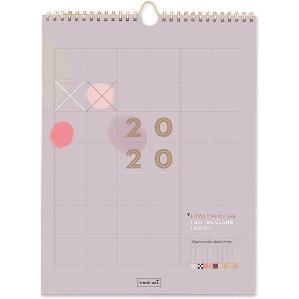 Tinne+Mia Tinne+Mia Familieplanner 2020