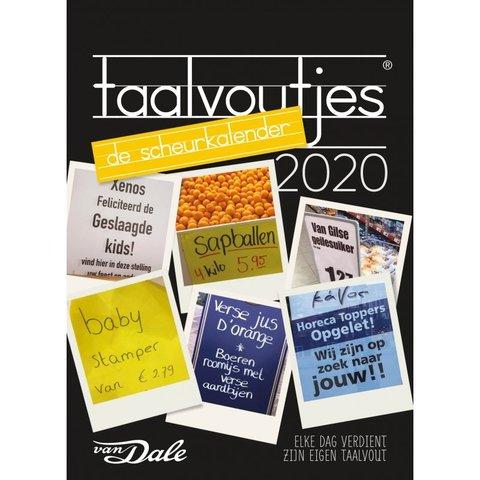 Taalvoutjes Abreißkalender 2020