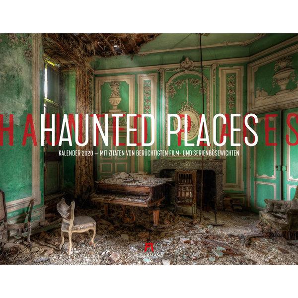 Ackermann Haunted Places - Lost Places Kalender 2020