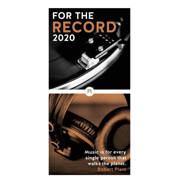 Ackermann For the Record Kalender 2020