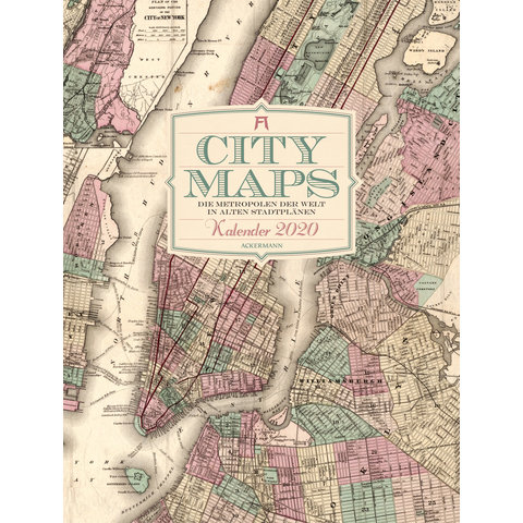 City Maps Kalender 2020