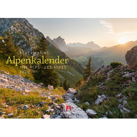 Ackermann Ackermanns Alpen Kalender 2020