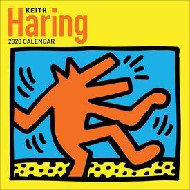 Abrams Keith Haring Kalender 2020
