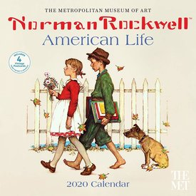 Abrams Norman Rockwell American Life Kalender 2020