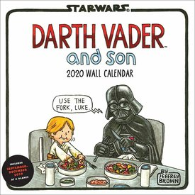 Chronicle Books Darth Vader and Son Kalender 2020