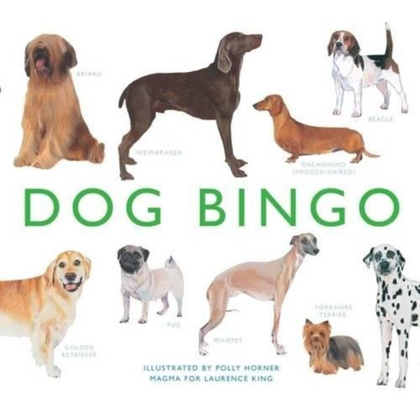Laurence King Publishing Honden - Dog Bingo