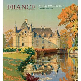 Pomegranate France Vintage Travel Posters Kalender 2020