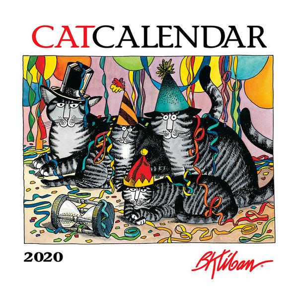 Pomegranate B. Kliban Catcalendar Kalender 2020