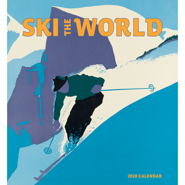 Pomegranate Ski The World Kalender 2020