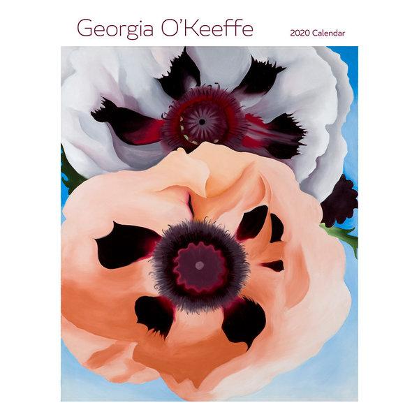 Pomegranate Georgia O'Keeffe Kalender 2020