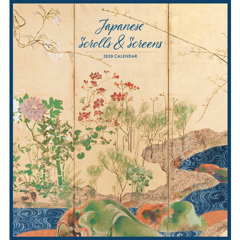Japanese Scrolls & Screens Kalender 2020