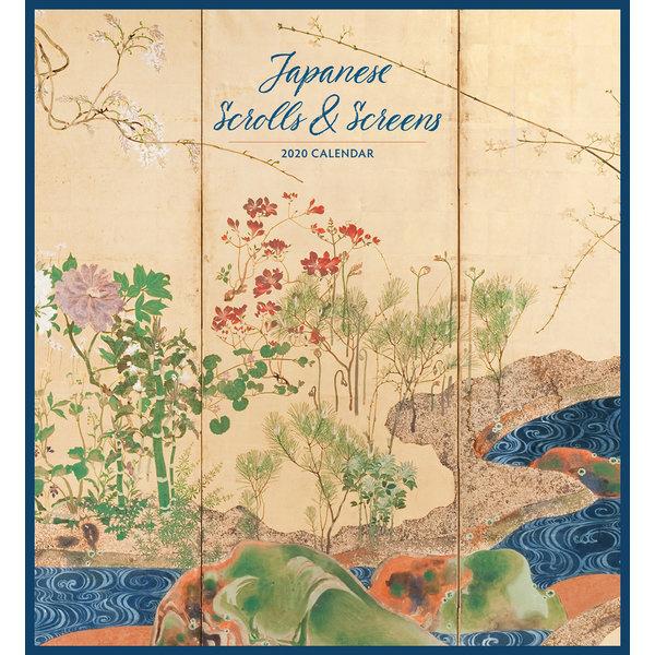Pomegranate Japanese Scrolls & Screens Kalender 2020