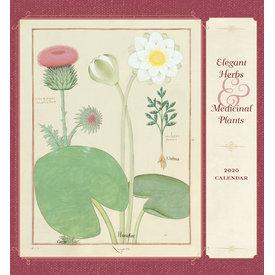 Pomegranate Elegant Herbs & Medicinal Plants Kalender 2020