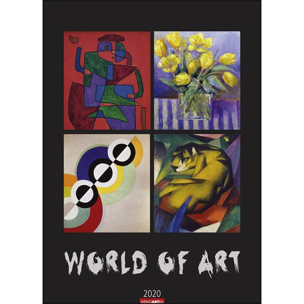 Weingarten World of Art Kalender 2020