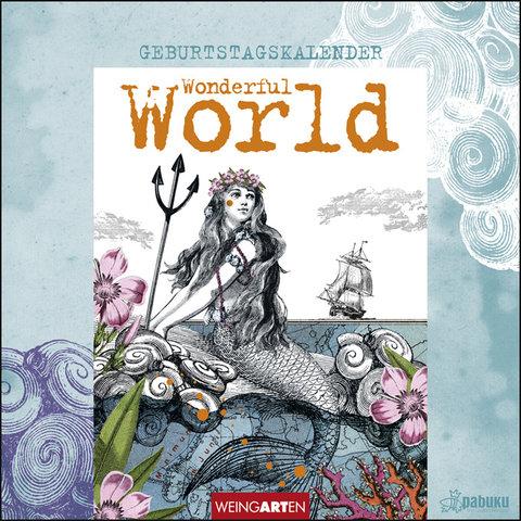Pabuku Wonderful World Geburtstagskalender