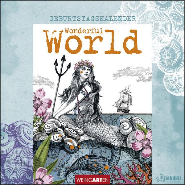Weingarten Pabuku Wonderful World Geburtstagskalender