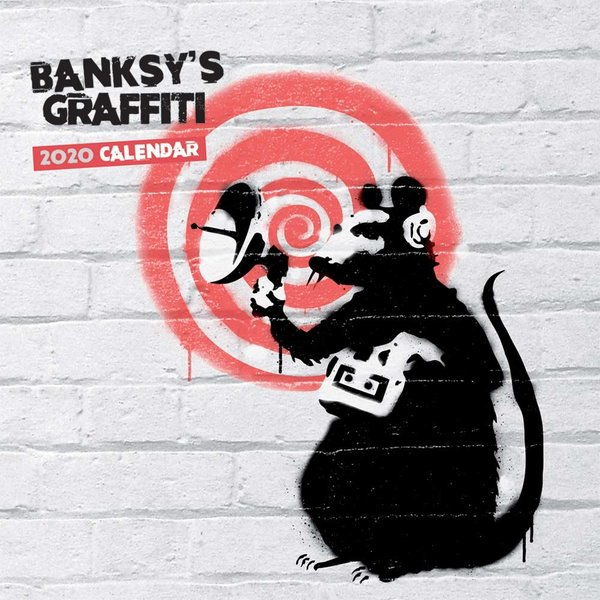 Browntrout Banksy Kalender 2020