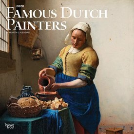 Browntrout Famous Dutch Painters Kalender 2020
