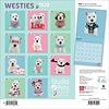 West Highland White Terrier Studio Pets Kalender 2020