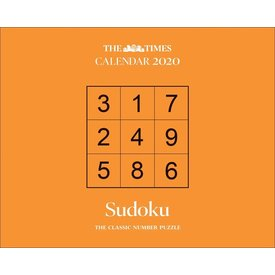 Carousel Sudoku The Times Page-A-Day Kalender 2020