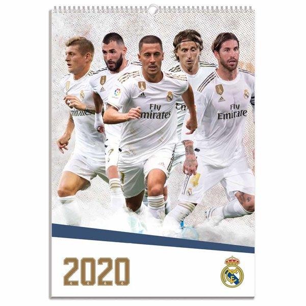 Grupo Erik Real Madrid A3 Fußball Kalender 2020