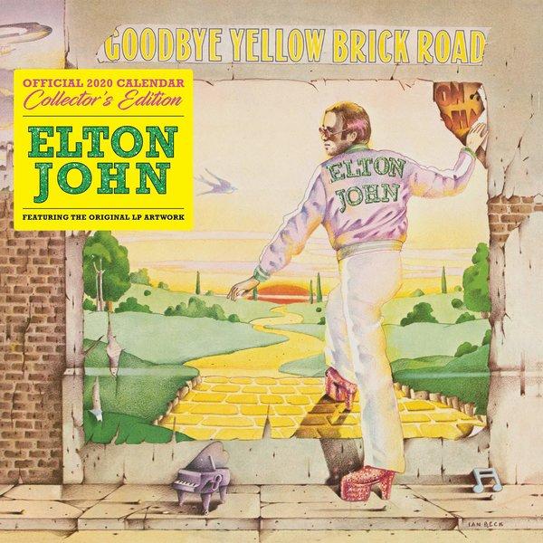 Browntrout Elton John Collectors Edition Kalender 2020
