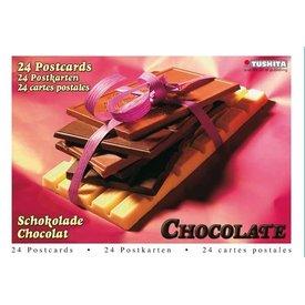 Tushita Schokolade Grußkarten Postkarten Postcard Book