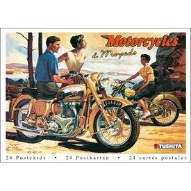 Tushita Motorräder & Mofas Postkarten Postcard Book