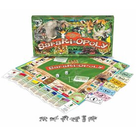 Late For The Sky Safari-Opoly Gezelschapsspel