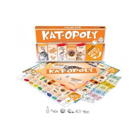 Late For The Sky Kat-Opoly Party Spiel