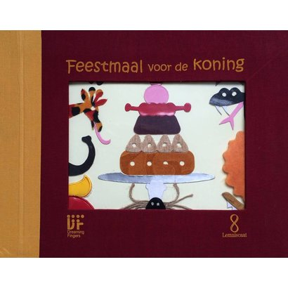Feestmaal voor de koning, brailleboek voor blinde en slechtziende kinderen