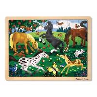 Houten Legpuzzel Paarden 48st