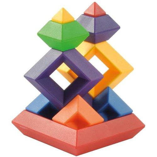 Piramide Bouw Puzzel 60-delig