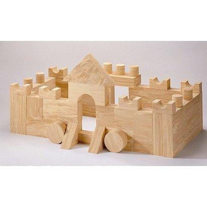 Softwood Blokkenset  (4 cm, 68-delig)