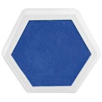 Mega stempelkussen Blauw