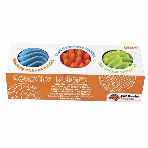 Fat Brain Toys Ontdekkingsballen 6cm - set van 3