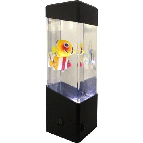 Led Aquarium met nep vissen