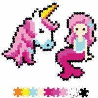 Jixelz 700pc Fantasy Friends