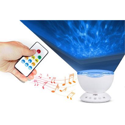 Ocean Wave Lamp met licht en geluid