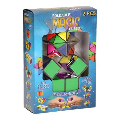 Magische Kubus Vouwbaar, 2st